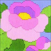Peony Counted Cross Stitch Kit NOTM058993
