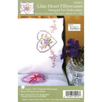 "Stamped Pillowcase Pair For Embroidery 20""X30"" NOTM318911"