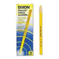 Dixon China Marker, Yellow, Dozen DIX00073