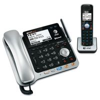 AT&T TL86109 Two-Line DECT 6.0 Phone System with Bluetooth ATTTL86109