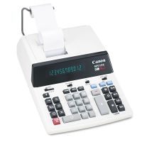 Canon MP21DX 12-Digit Ribbon Printing Calculator, Black/Red Print, 3.5 Lines/Sec CNMMP21DX