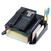 Officemate Recycled Telephone Stand, 12 1/4 x 10 1/2 x 5 1/4, Black OIC26102