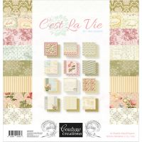 "Couture Creations Double-Sided Paper Pad 12""X12"" 24/Pkg NOTM360423"