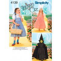 SIMPLICITY CHILDS COSTUMES NOTM495997