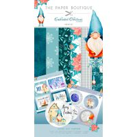 "Enchanted Christmas Paper & Topper Kit 8""X8"" 44/Pkg NOTM079579"