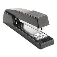 "Universal Classic Full-Strip Stapler, 15-Sheet Capacity, 3 1/2"" Throat, Black UNV43128"