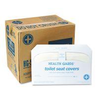 HOSPECO Health Gards Toilet Seat Covers, White, 250 Covers/Pack, 20 Packs/Carton HOSHG5000CT