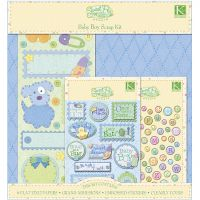 Sweet Pea Scrapbook Kit   NOTM305275