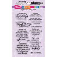 "Stampendous Perfectly Clear Stamps 4""X6"" Sheet NOTM477353"