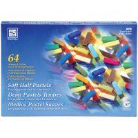 Soft Half Pastels 64/Pkg NOTM133058