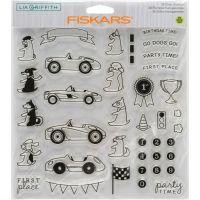 "Fiskars Lia Griffith 8""X8"" Stamps NOTM393193"