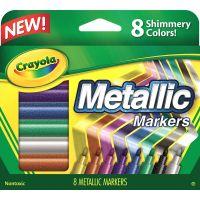 Crayola Metallic Markers NOTM155845
