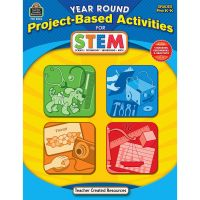 Teacher Created Resources PreK Project-based STEM Book Education Printed Book for Science/Technology/Engineering/Mathematics TCR3024