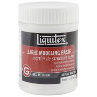 Liquitex Light Modeling Paste Acrylic Gel Medium NOTM131386