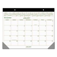 AT-A-GLANCE Two-Color Desk Pad, 22 x 17, 2019 AAGGG250000