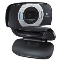 Logitech C615 HD Webcam, 1080p, Black/Silver LOG960000733