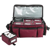 MMF Med-Master Carrying Case Medicine - Burgundy MMF221800017