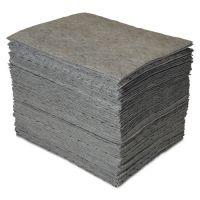 SPC GP MAXX Enhanced Sorbent Pads, .25gal, 15w x 19l, Gray, 100/Carton SBDGP100