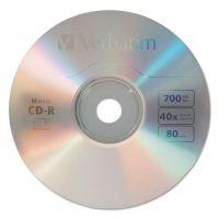 Verbatim CD-R Music Recordable Disc, 700MB, 40x, 25/Pk VER96155