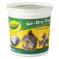 Crayola Air-Dry Clay, White, 5 lbs CYO575055
