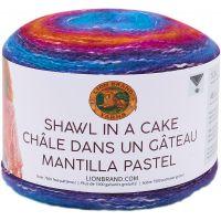 Lion Brand Shawl in a Cake Yarn NOTM064635