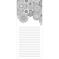 "Coloring Notepad 4""X9"" 40 Sheets NOTM374826"