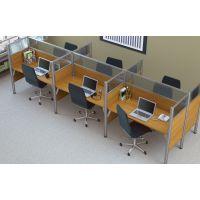 Bestar Pro-Biz Six workstation in Cappuccino Cherry BESBES100873D68