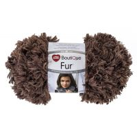 Red Heart Boutique Fur Yarn - Mink NOTM303743