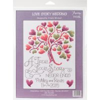 Love Story Counted Cross Stitch Kit NOTM052677