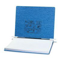"ACCO PRESSTEX Covers w/Storage Hooks, 6"" Cap, 14 7/8 x 11, Light Blue ACC54072"
