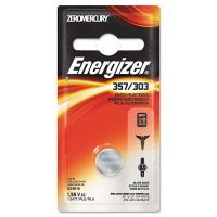 Energizer Watch/Electronic Battery, SilvOx, 357, 1.5V, MercFree EVE357BPZ