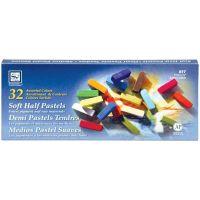 Soft Half Pastels 32/Pkg NOTM132704