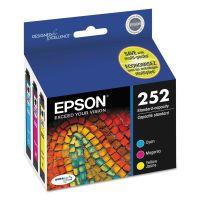 Epson T252520 (252) DURABrite Ultra Ink, Cyan/Magenta/Yellow, 3/Pack EPST252520