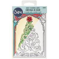 Sizzix Coloring Cards 24/Pkg By Jen Long NOTM427824