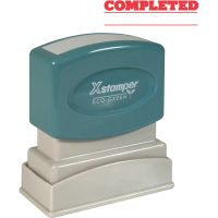 Xstamper COMPLETED Stamp XST1214