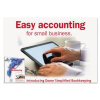 Dome Simplified Bookkeeping Software, Renewal, Mac® OS X & Later, Windows® 7, 8 DOM0114R