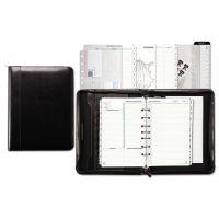 Day-Timer Aristo Bonded Leather Starter Set, 5 1/2 x 8 1/2, Black DTM84441