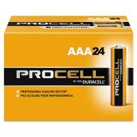 Duracell Procell Alkaline Batteries, AAA, 24/Box DURPC2400BKD