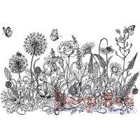 """Deep Red Cling Stamp 3.2""""X2"""" NOTM056607"""