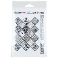 """Darkroom Door Cling Stamp 4.5""""X3"""" NOTM370177"""
