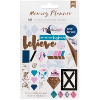 American Crafts Memory Planner Stickers NOTM098595