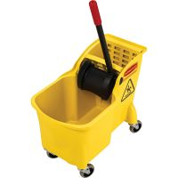 Rubbermaid 31 Quart Mop Bucket Combination RCP738000YL