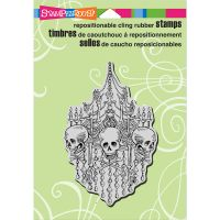 """Stampendous Cling Stamp 6.5""""X4.5"""" NOTM017906"""