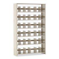 Tennsco Snap-Together Steel Six-Shelf Closed Starter Set, 48w x 12d x 76h, Sand TNN127648PCSD