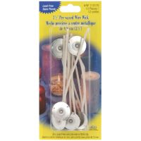 Yaley Pre-Waxed Wire Wicks With Clips NOTM222657