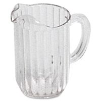 Rubbermaid Commercial 30-oz. Bouncer Pitcher RCP333600CLRCT