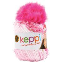 Lion Brand Keppi Yarn - Cotton Candy Pink NOTM069297