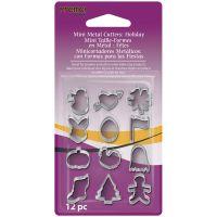 Premo Sculpey Mini Metal Cutters 12/Pkg NOTM481532