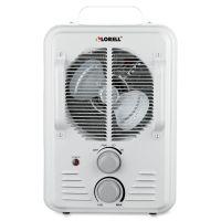 Lorell Portable Ceramic Heater Fan LLR99842