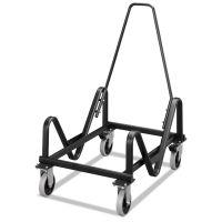 HON GuestStacker Cart, 21-3/8 x 35-1/2 x 37-7/8, Black HON4033T